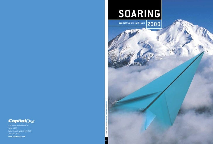 SOARING                             2000 Capital One Annual Report