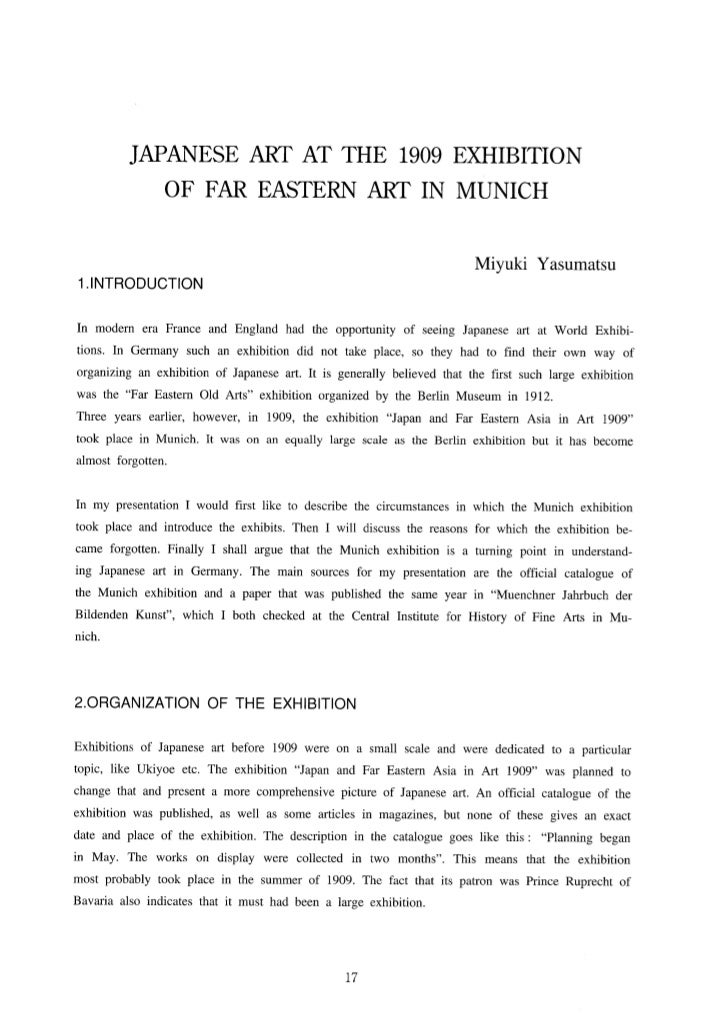 1909 Munich Exhibition