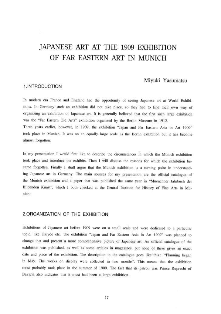 1909 Munich Exhibition
