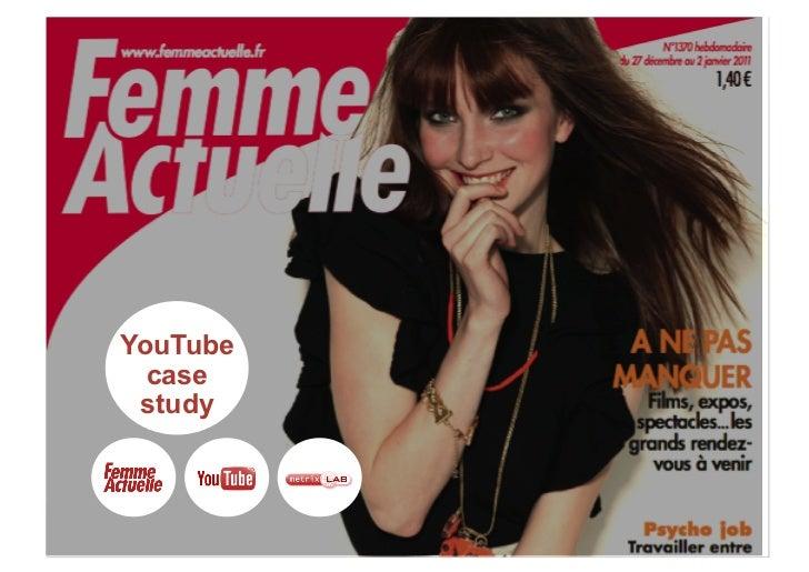 Campagne publicitaire sur YouTube