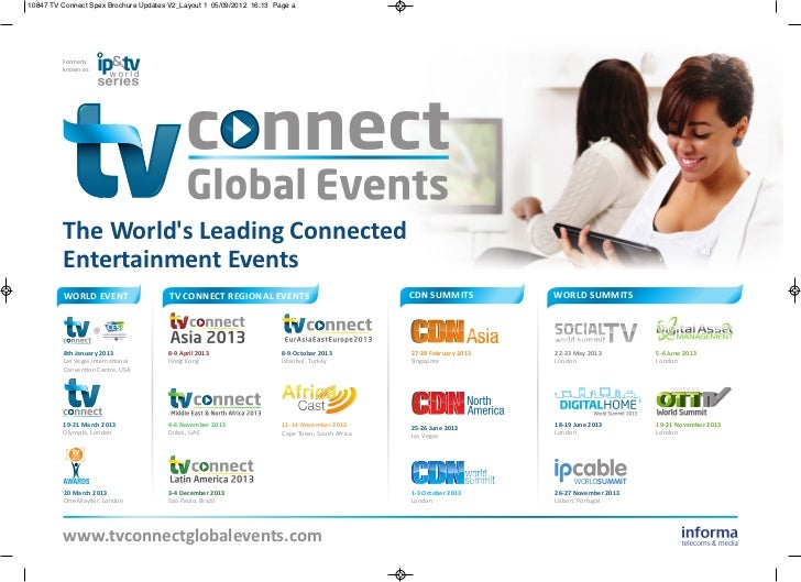 TV Connect Global Events 2013 Brochure