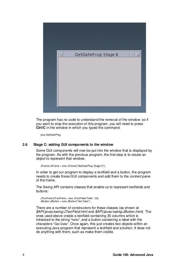 advanced java programming tutorial pdf