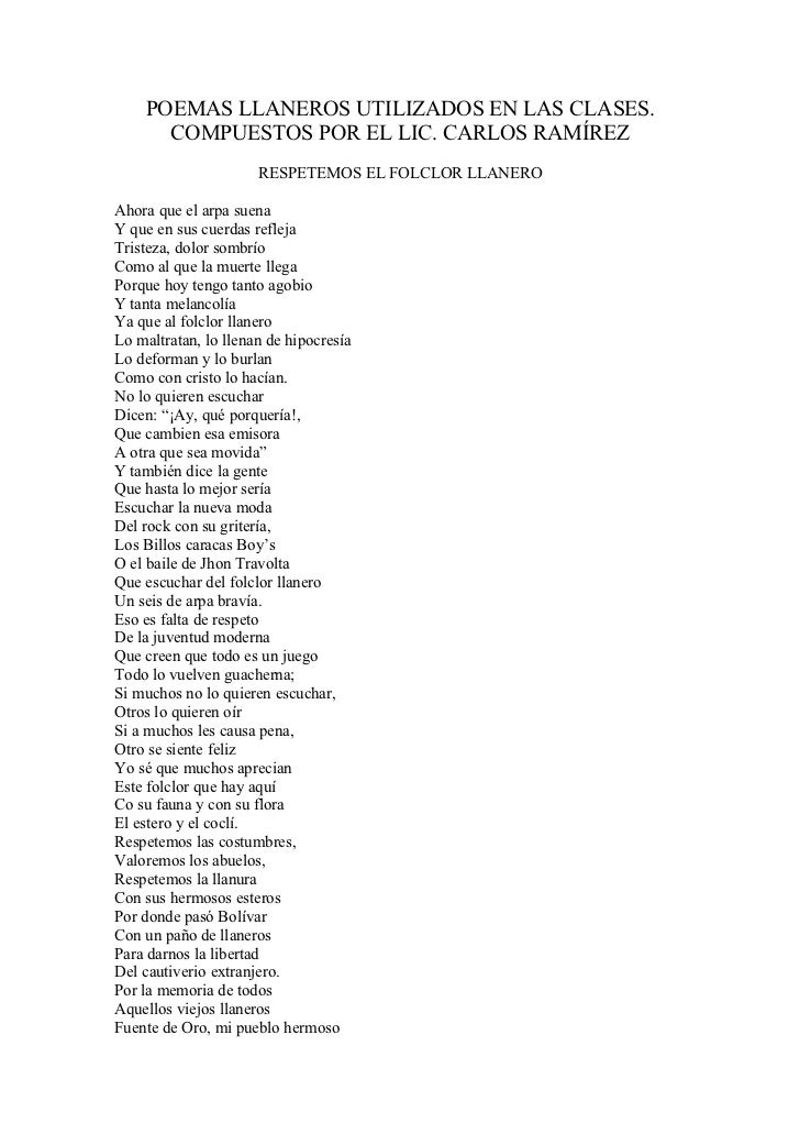 108 poemas llaneros