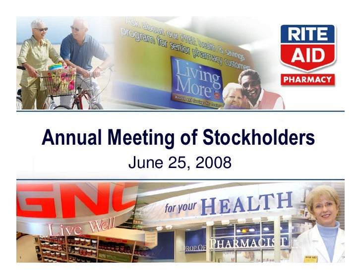 rite aid _share holders