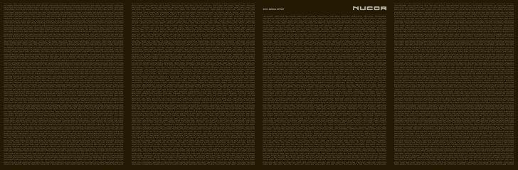 nucor annual reports 2003