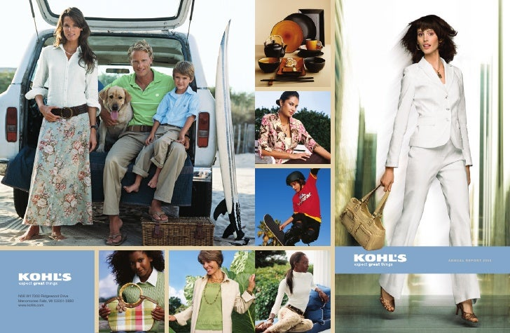 kohl's annual reports 2005