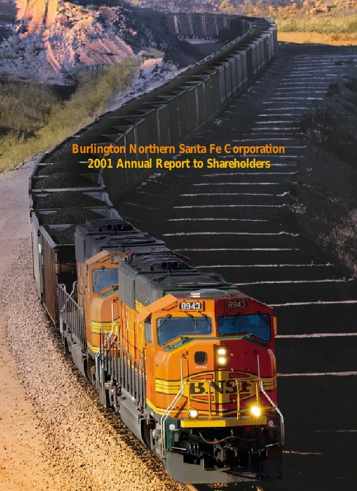 Burlington Northern Santa Fe Corporation   2001 Annual Report to Shareholders
