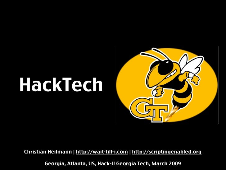 Georgia Tech Hack Day