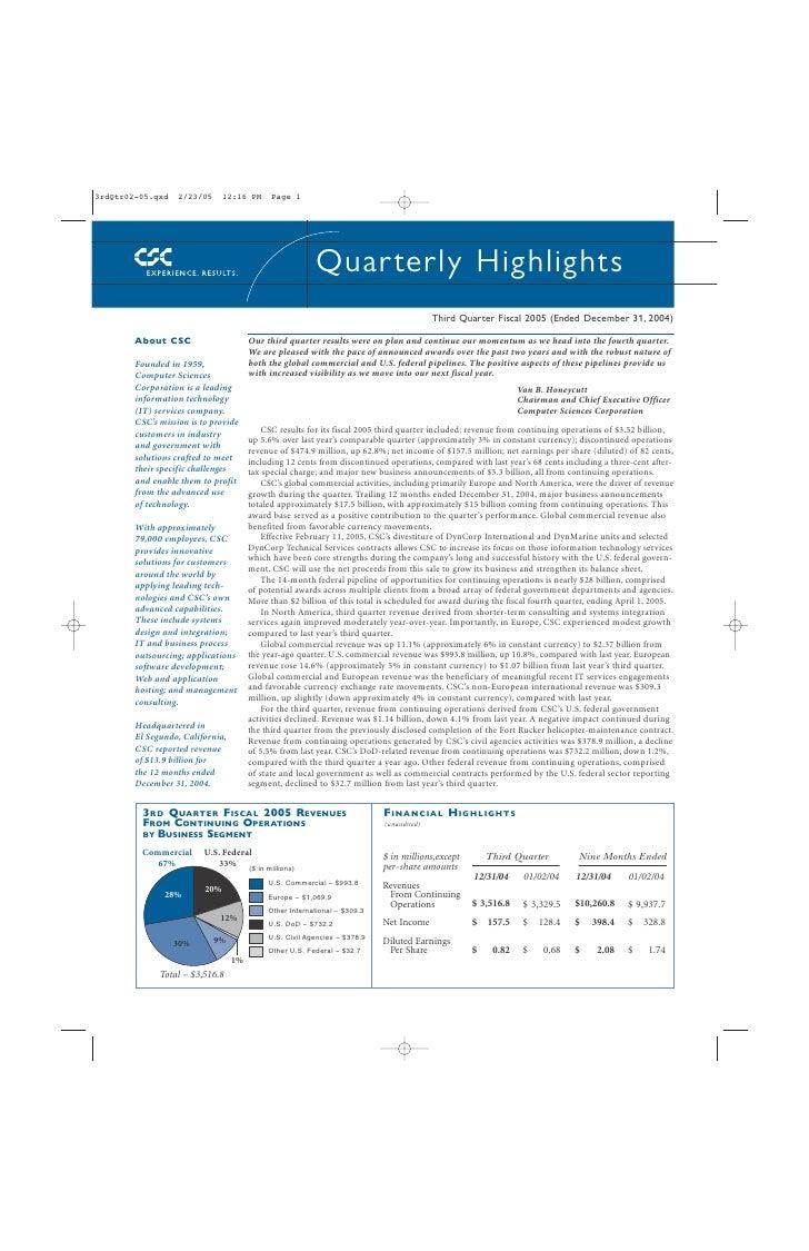 3rdQtr02-05.qxd    2/23/05      12:16 PM     Page 1                                                              Quar terl...