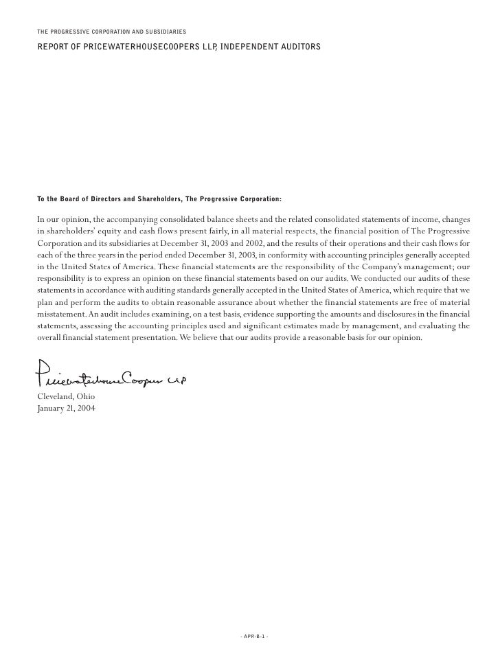 fProgressive  2003 review