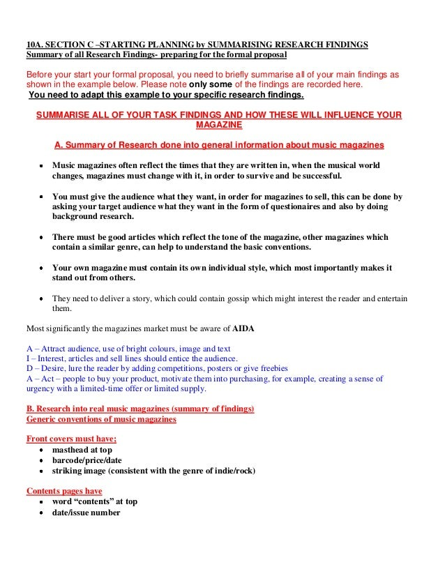 Formal research proposal example – Formal Proposal Example