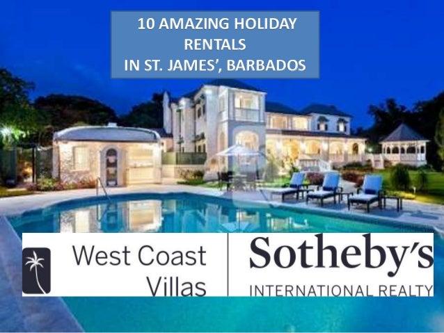 10 amazing holiday rentals in barbados