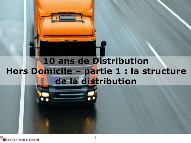 10 ans de Distribution Hors Domicile – partie 1 : la structure de la distribution 1