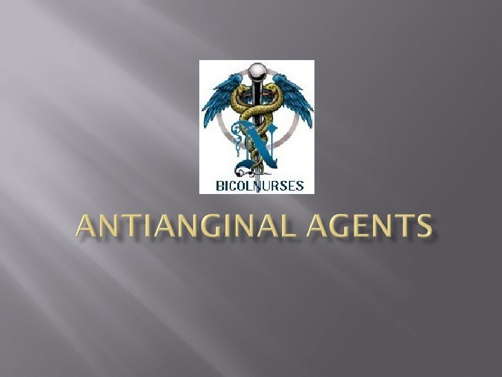 10 Antianginal Agents Upd