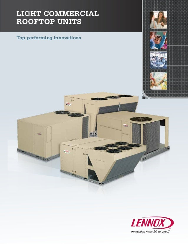 Top-performing innovationsLight CommercialRooftop Units
