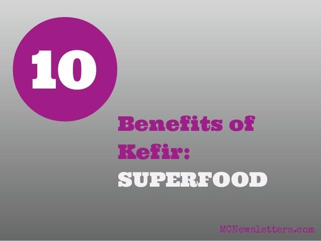 10 Benefits of Kefir Superfood