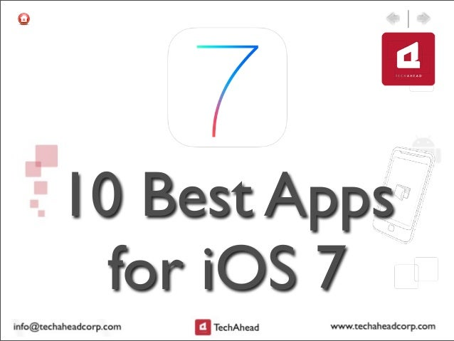 10 Best Apps for iOS 7