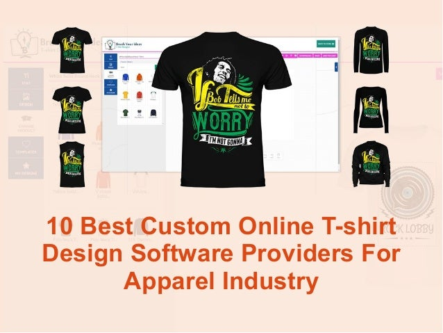 10 best custom online t shirt design software providers for Custom t shirt software