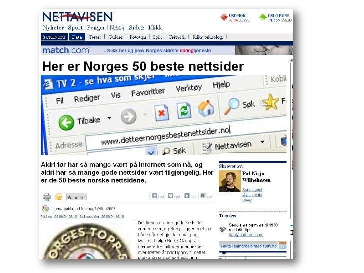 massasje tantra beste norske datingsider