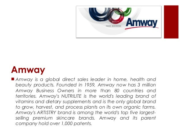 amway principles of management Press release: the coca-cola company and amway both recently joined the  digital workplace group's member forum in order to advance.