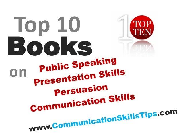 10 best public speaking communication skills books
