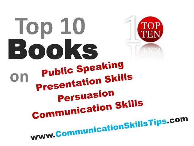 10 best public speaking communication skills books