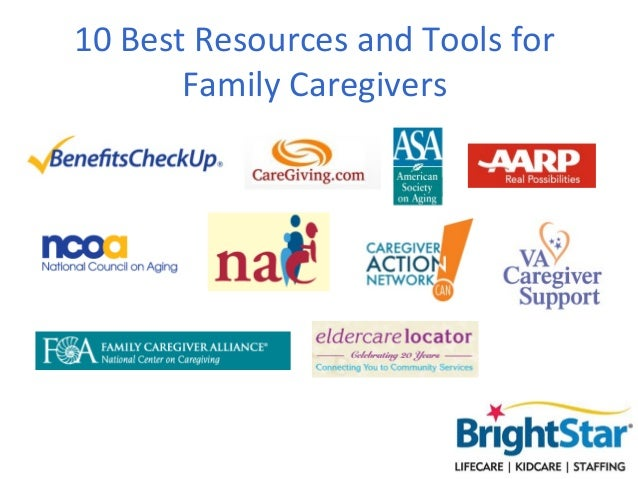 10 Best Resources and Tools forFamily Caregivers