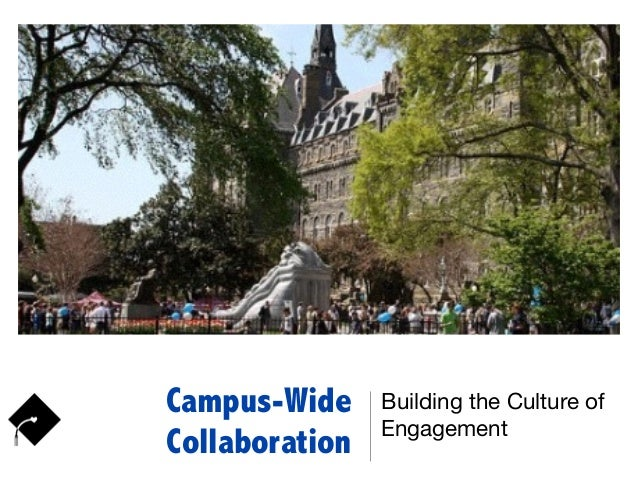 Campus-Wide Collaboration Building the Culture of Engagement