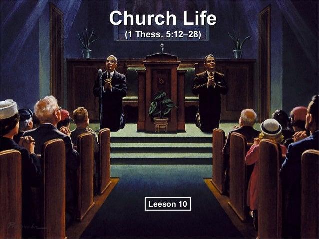 10 church life