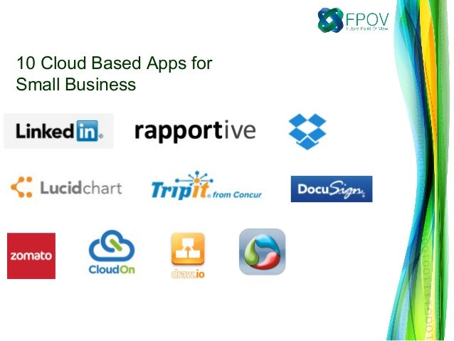 10 Cloud Based Apps for Small Business