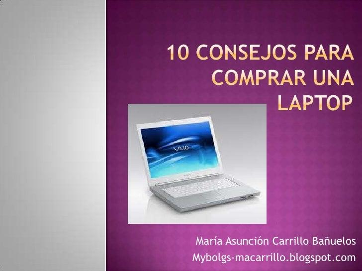 10 consejos para comprar una laptop