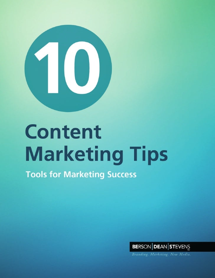 10 Content Marketing Tips