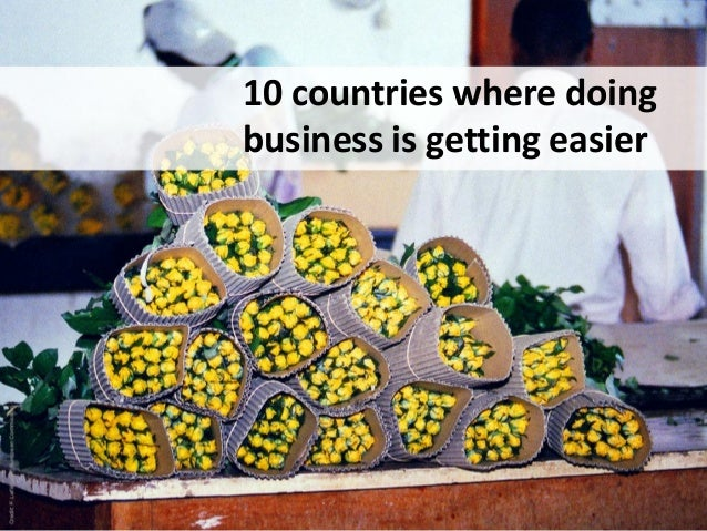 10 countries where doing business is getting easier