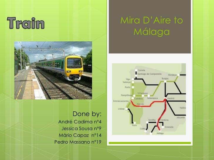 Trip - Portugal/Spain - by train (I)