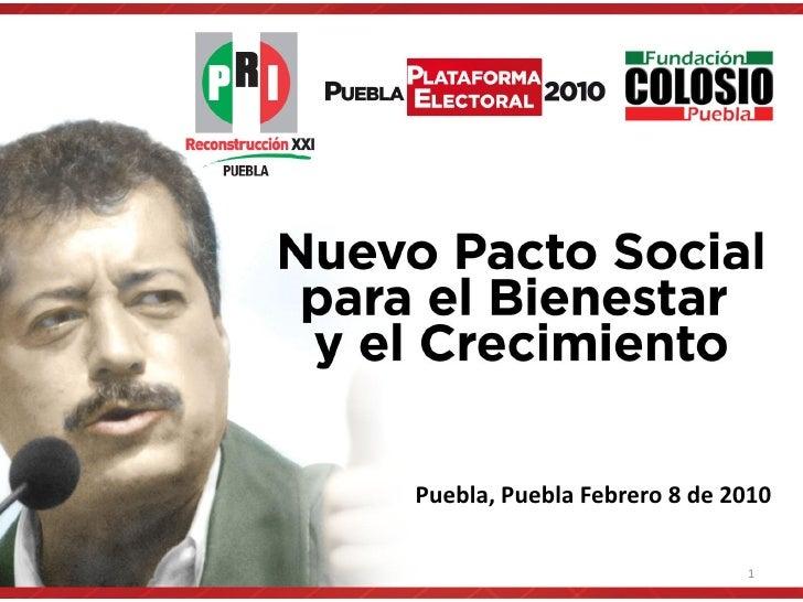 Puebla, Puebla Febrero 8 de 2010                               1