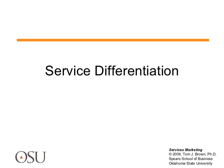 (10)Differentiation New Services