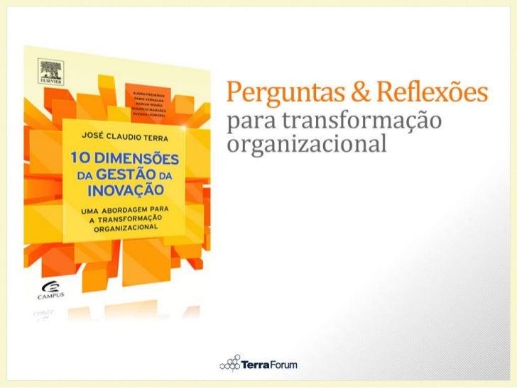 10 dimensões da gestão de inovação - síntese e perguntas para reflexão