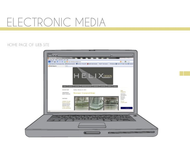 ELECTRONIC MEDIAHOME PAGE OF WEB SITE                        11