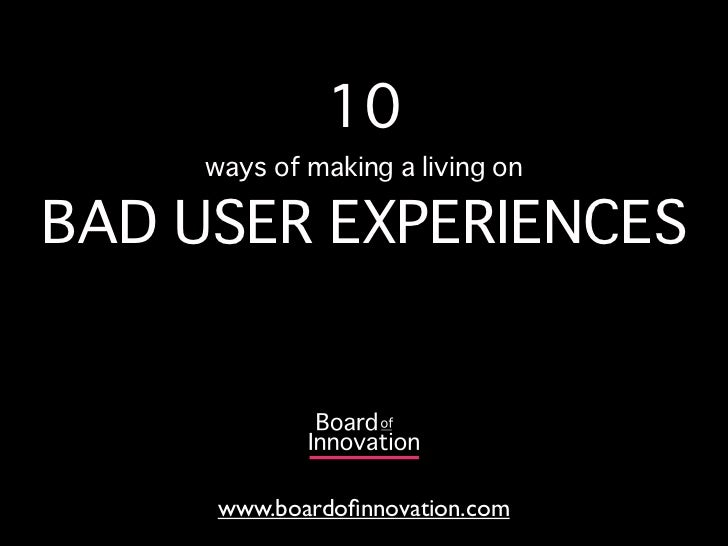 10 ways to make money on bad Experiences