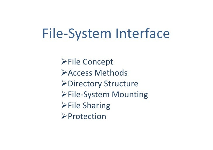 10 File System