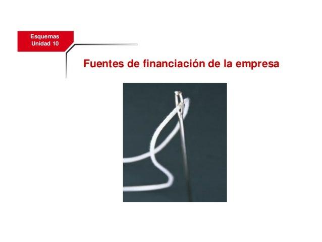 10fuentesdefinanciaciondelaempresa 120116113938-phpapp02