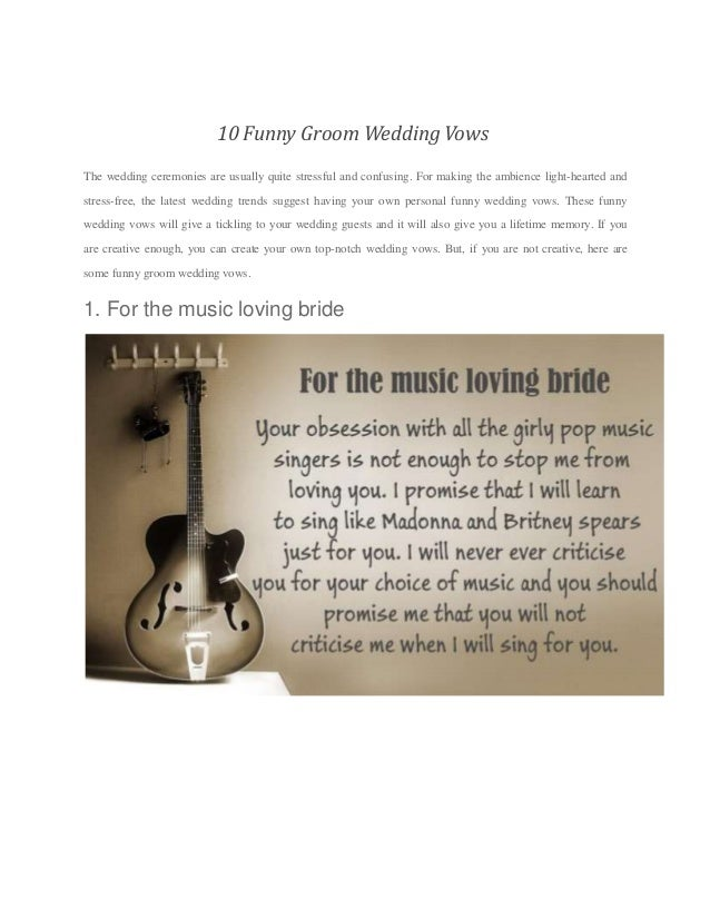how to write vows for groom Traditional wedding vows have a special ring to them, but these days many  couples choose to personalise their vows how do you decide what to say.