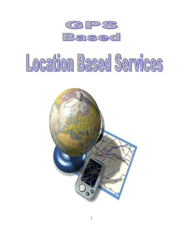 10 gps based location based services