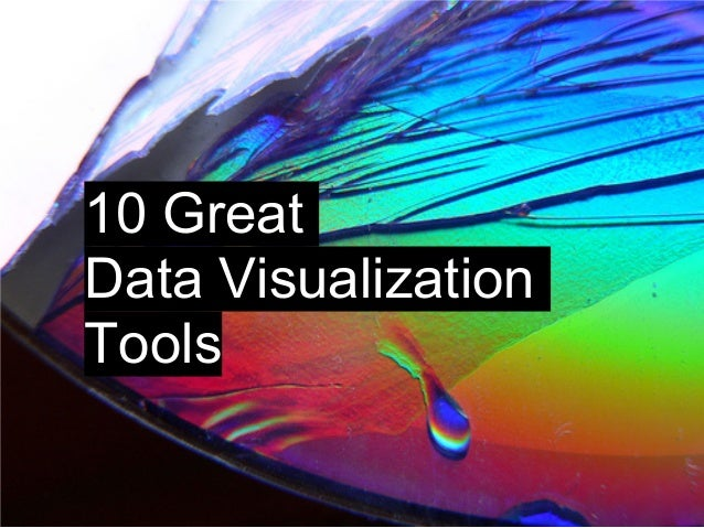 10 Great Data Visualization Tools