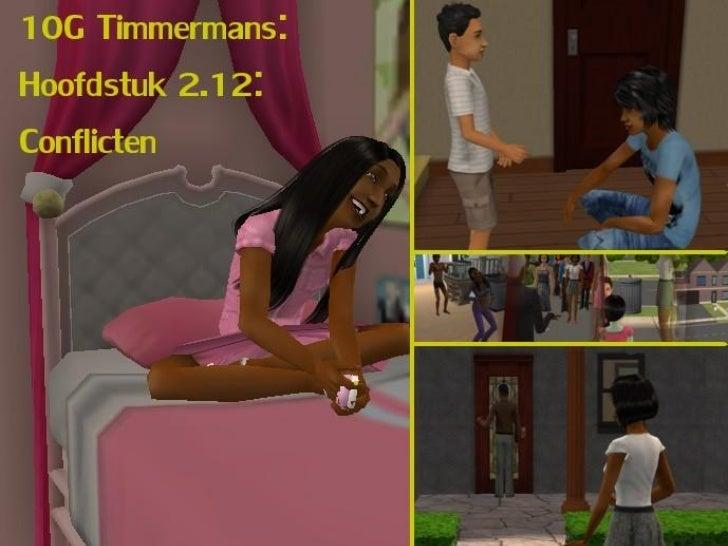 10G Timmermans: Hoofdstuk 2.12: conflicten