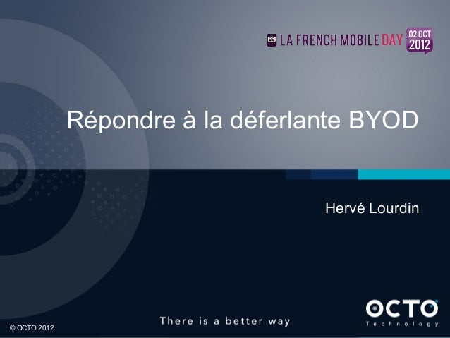 La déferlente BYOD