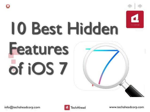 10 Best Hidden Features of iOS 7