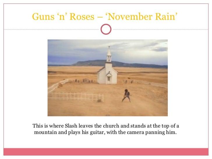 Slash November Rain Church