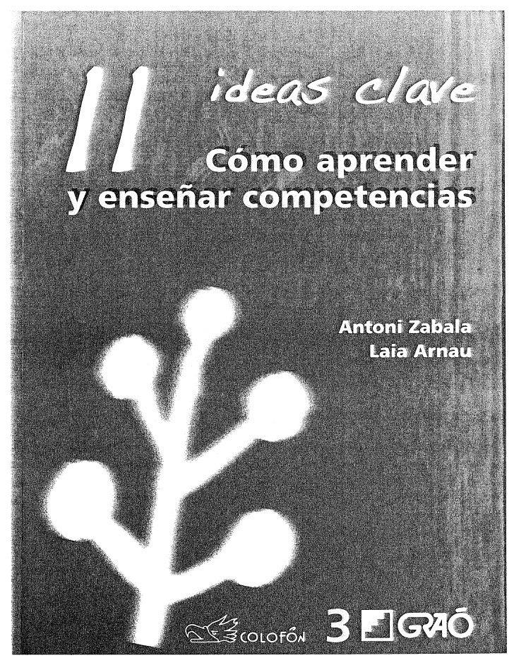 10 ideas clave idea 7 enseñar competencias