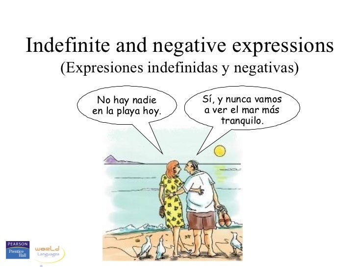 10 indefinite and negative expressions